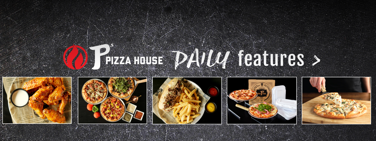 P's Pizza House | pizza near me | daily features